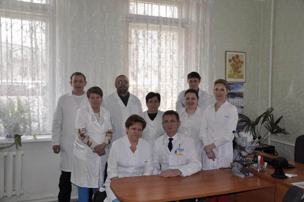 Патологоанатомічне відділення з гістологічною лабораторією