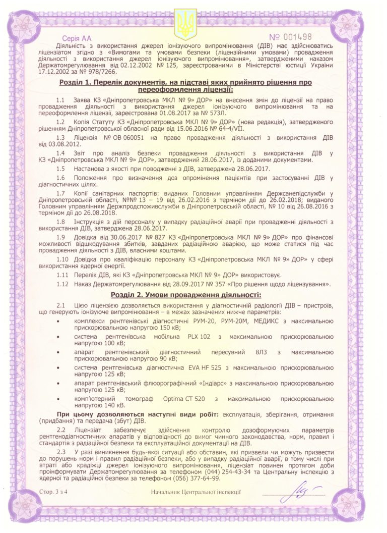 Дозвільні документи